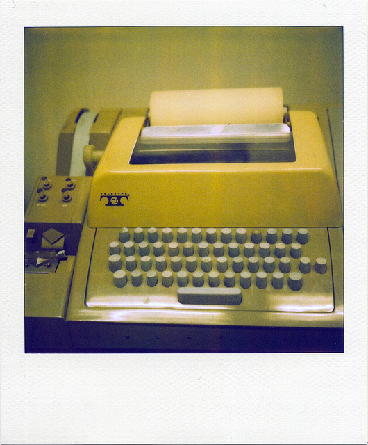 teletype computer interface