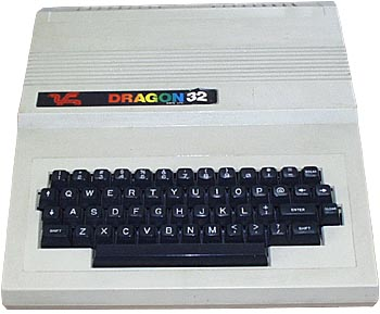 The Dragon 32 with a massive 32k of memory!