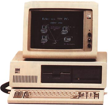 PC version 1 - IBM-PC-XT1