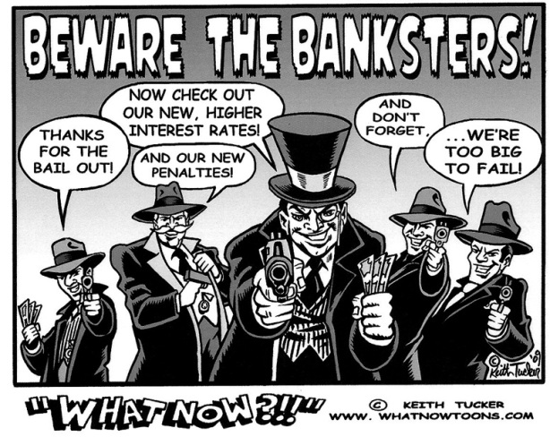 The banksters lied to us
