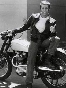 The Fonz - So cool