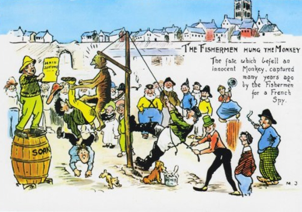 Hartlepool Fishermen Hanging Of The French Monkey Spy