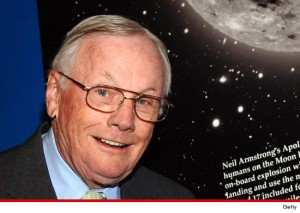 Neil Armstrong - the first man to set foot on the Moon