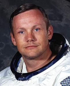 A young Neil Armstrong during his NASA days