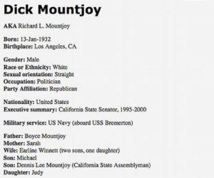 Dick Mountjoy