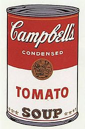 Andy Warhol's infamous Campbell Soup