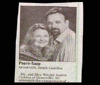Poore - Sapp