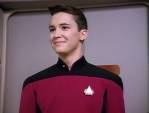 Wil Wheaton - Wesley Crusher, Star Trek The Next Generation