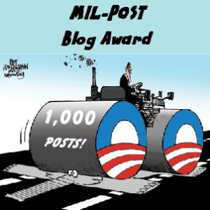 MIL-POST BLOG AWARD
