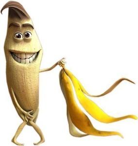 naked banana