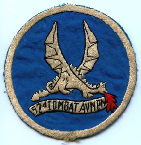 "52d Aviation Regiment ""Flying Dragons"" patch"