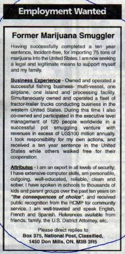 Classified ad012