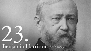 Benjamin Harrison 23rd President of the United States of America