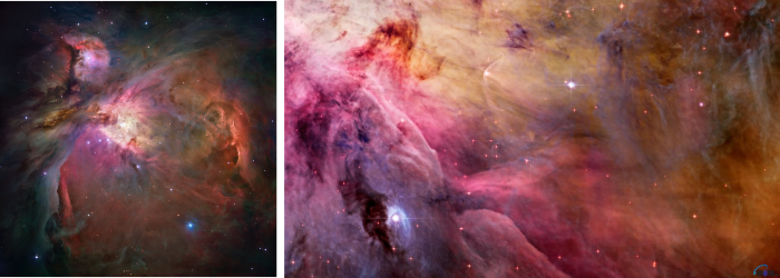 Messier-42 also known as the Orion Nebula