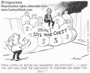 Obama war chest