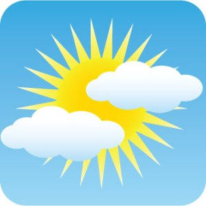 partly sunny? - or - partly cloudy?
