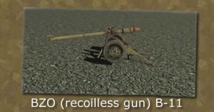 BZO (Recoillessgun) B-11