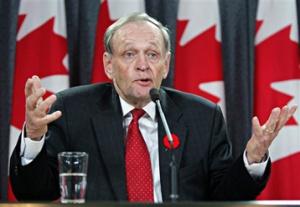 Canadian Prime Minister Jean Chrétien