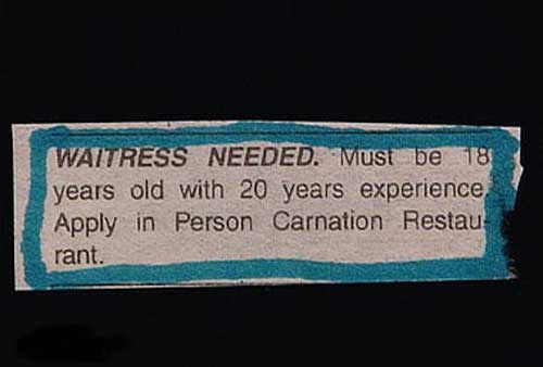 classified ad 12a