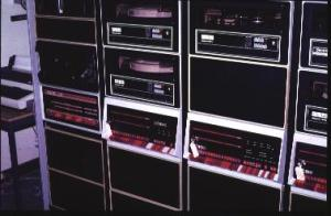 cpu room with DEC PDP-11
