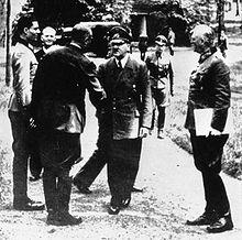 Führerhauptquartier, Stauffenberg, Hitler