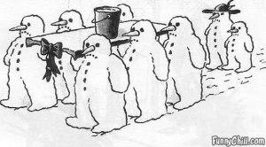 snowman-funeral