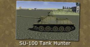 SU 100 Tank Hunter