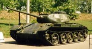 Soviet T44 tank