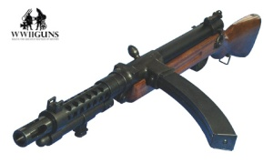 Type100 Japanese WWII Submachine Gun