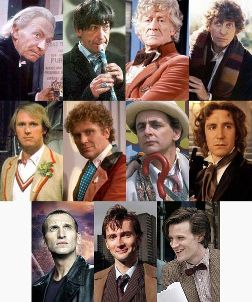 The 11 actors who have played 'The Doctor'