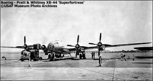 XB-44-1 variant of the B-29A