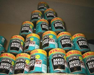 beans in cans