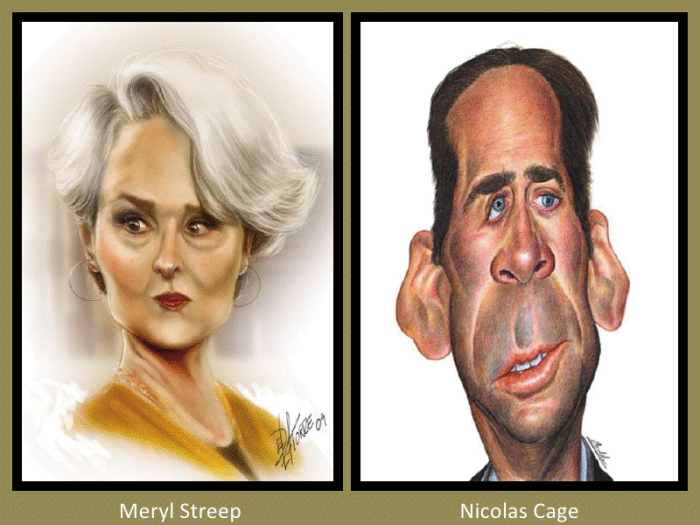 Meryl Streep and Nicolas Cage