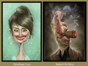 Penelope Cruz and Robert de Niro