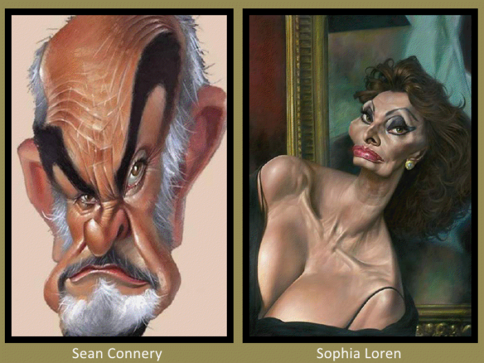 Sean Connery and Sophia Loren