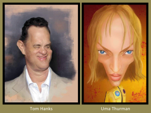 Tom Hanks and Uma Thurman