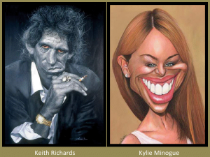 Keith Richards and Kylie Minogue