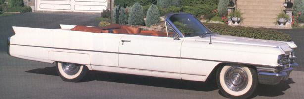 Cadillac convertible 1963