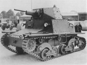 Carro Armato L6 40 tank