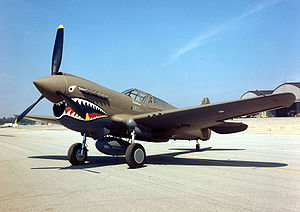 Curtiss P-40E Warhawk USAF