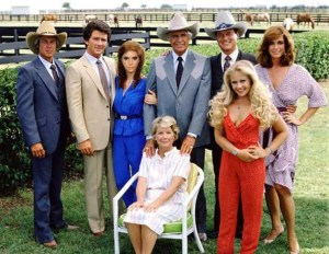 The cast of hit tv series Dallas