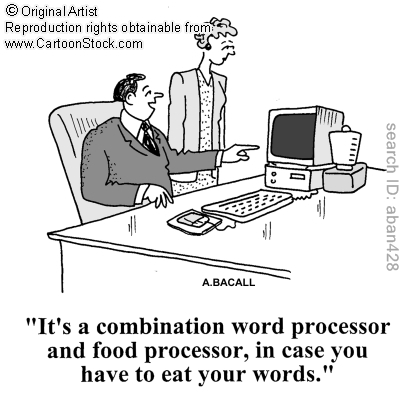 food word processor combo