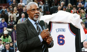 Hall of Famer Julius Erving