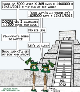 Mayan End Of The World Miscalculation