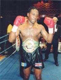 Nigel Benn boxer!