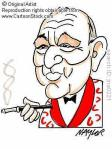 Noel Coward cartoon