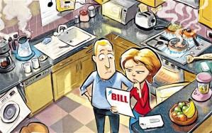 outstanding bill