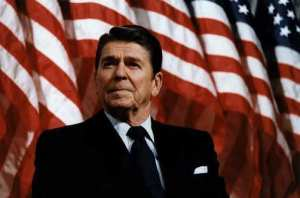 Ronald Reagan 40th President of the United States of America