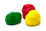 color silly putty or  plasticine