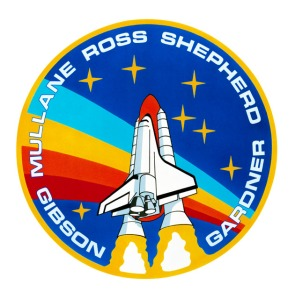 STS 27 Mission Insignia space shuttle